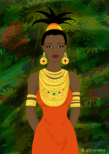 Princesse africaine - © Anne Chevalme