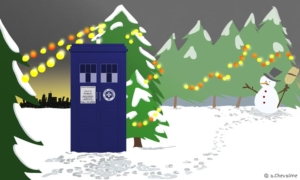Merry Christmas Doctor Who ! - © Anne Chevalme