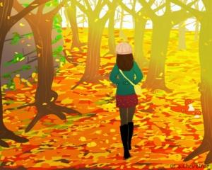 Couleurs d'automne - © Anne Chevalme